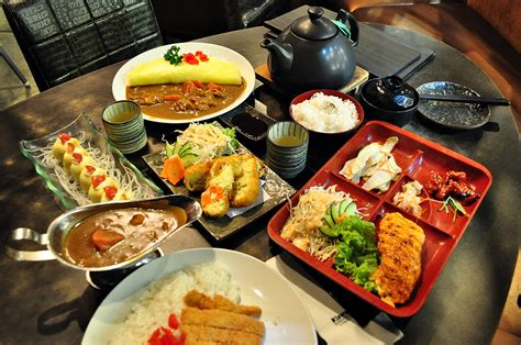 japanese food different angle japanese cuisine