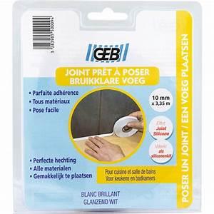 Joint Pret A Poser : joint d 39 tanch it pr form pr t poser 10 mm x 3 35 m geb ~ Melissatoandfro.com Idées de Décoration