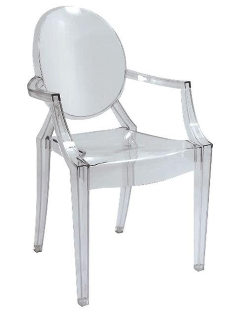chaise medaillon transparente pas cher chaise plexi transparente