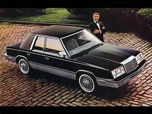 Chrysler Lebaron History 1980