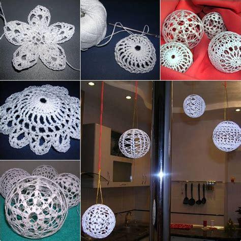 diy crochet christmas balls usefuldiycom