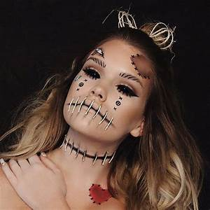Halloween Make Up Puppe : 25 best ideas about voodoo doll makeup on pinterest scary doll makeup awesome halloween ~ Frokenaadalensverden.com Haus und Dekorationen