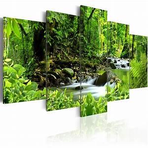 Bilder Natur Leinwand : leinwand bilder xxl kunstdruck wandbild natur wald landschaft bach 030112 45 ebay ~ Markanthonyermac.com Haus und Dekorationen