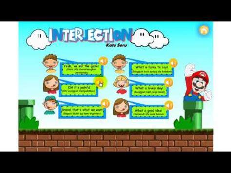 animasi media pembelajaran interaktif belajar bahasa