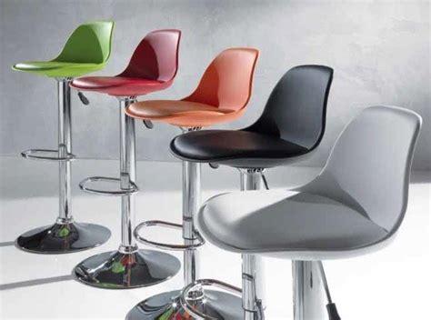 tabouret de bar pivotant design nemo 5 couleurs au choix