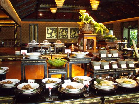 cuisine orient buffet buffet by the river at mandarin