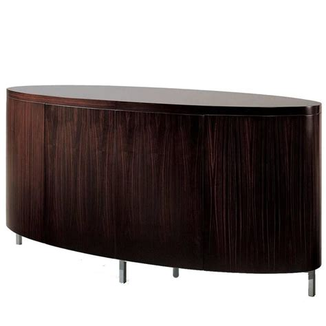 Oval Sideboard by Majestic Aretha Sideboard With A Striking Oval