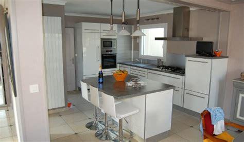cuisine brieuc cuisine ouverte ilot central 2 cuisine am233nag233e