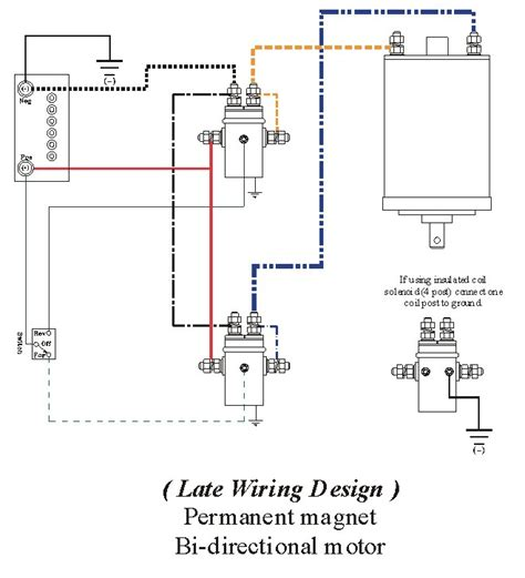 Diagram Wiring Winch For Reversible Online