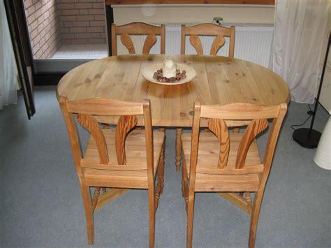 Tisch 4 Stühle by Essgruppe Kiefer Massiv Bestseller Shop F 252 R M 246 Bel Und