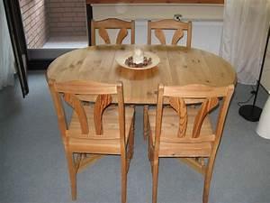Tisch Rund 80 Cm Ausziehbar : esstisch rund ausziehbar kiefer 4 st hle speisezimmer e ecke ~ Frokenaadalensverden.com Haus und Dekorationen