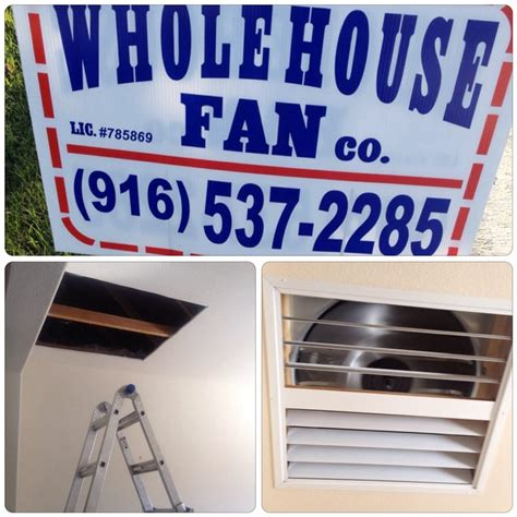 Whole House Fan Company Appliances Sacramento Ca