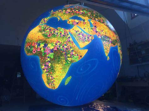 10' Internally Illuminated Globe for Natural Factors