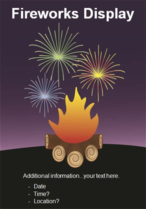 guy fawkes bonfire night poster  early years