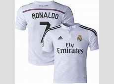 Buy Cristiano Ronaldo Real Madrid Jersey Online in India