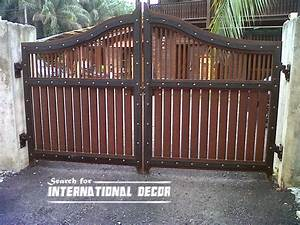Option of gate designs for private home and garage ~ Top ...