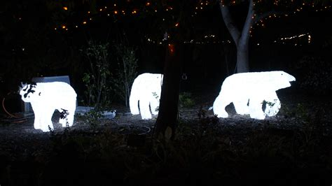 polar bear christmas lights decoratingspecialcom