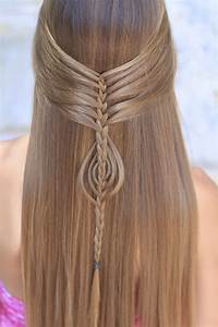 Mermaid Braid Combo Cute Girls Hairstyles