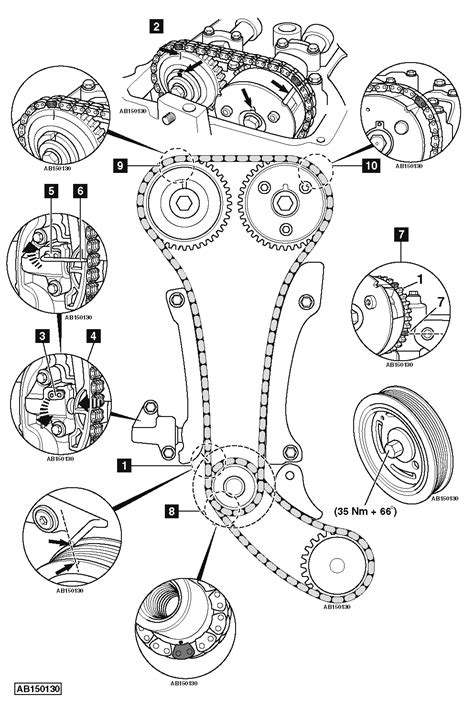 replace timing chain  renault megane