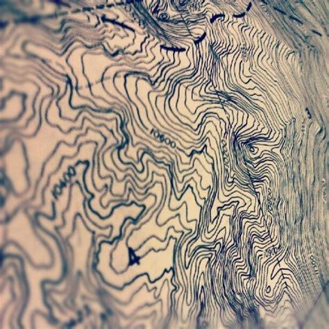 inspiration topography design   map art