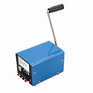 Outdoor 20w Multifunction Portable Manual Crank Generator