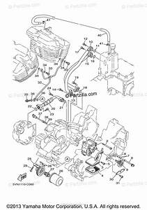 Yamaha Motorcycle 2004 Oem Parts Diagram For Oil Pump