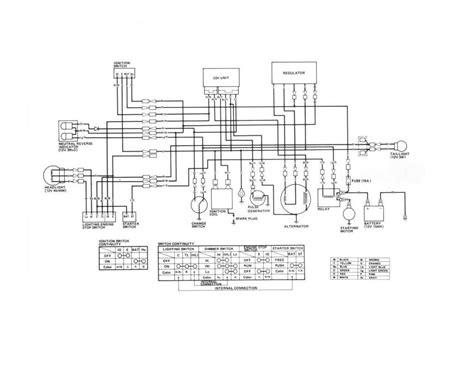 2004 honda 400ex wiring diagram 31 wiring diagram images