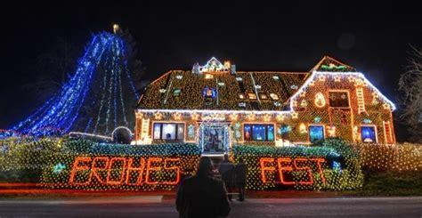 le foto della casa decorata  piu  mila luci