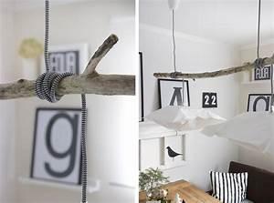 Lampe über Kochinsel : idee f r eine diy lampe mit treibholz wohnkonfetti ~ Buech-reservation.com Haus und Dekorationen