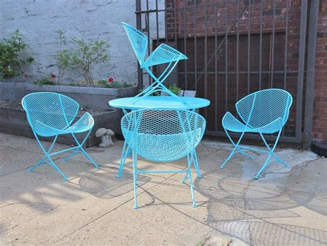 salterini patio furniture 1950s salterini patio table and chairs at 1stdibs