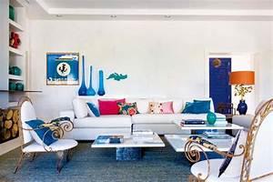 Idees deco estivale de style marin pour une maison de for Maison de vacances idees deco 16