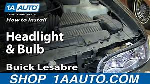 How To Replace Headlights 97-99 Buick Lesabre