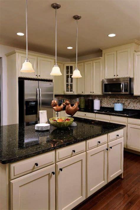 Elegant Kitchen Light Cabinets With Dark Countertops 56