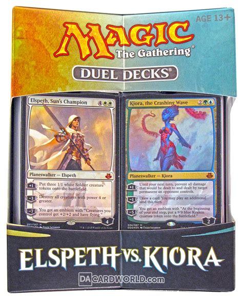 Mtg Kiora Kraken Deck by Magic The Gathering Elspeth Vs Kiora Duel Deck Da Card