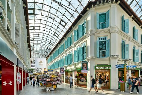 Architectural Photography Of Bugis Junction In Singapore