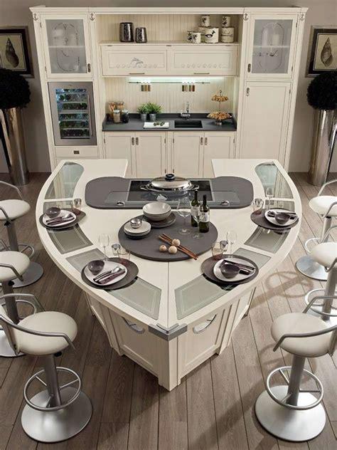 cuisine bateau îlot de cuisine au design revisité selon les tendances actuelles