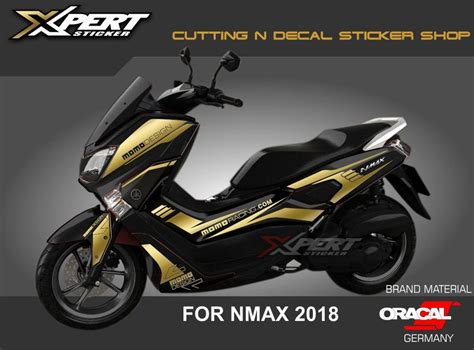 Nmax 2018 Warna Hitam by Jual Stiker Nmax Gold Cutting Sticker Nmax Hitam 2018 Di