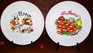 Assiette A Pizza : assiette pizza viva table destockage grossiste ~ Teatrodelosmanantiales.com Idées de Décoration