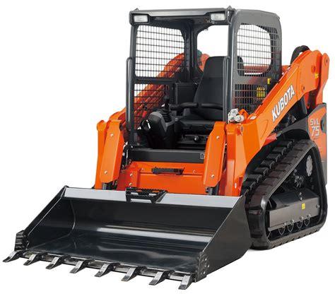kubota skid steer loader svl allclass construction equipment brisbane allclass
