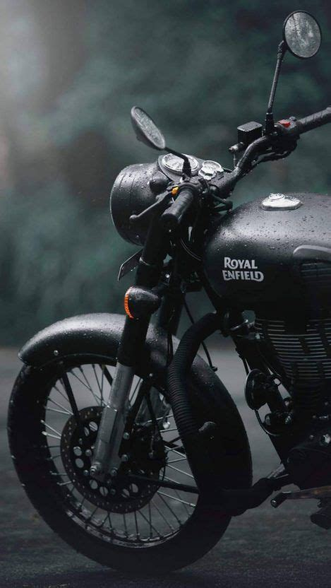 Royal Enfield Bullet 350 4k Wallpapers by Royal Enfield Stealth Black Iphone Wallpaper Free Wallpapers