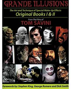 Morris Costumes Grande Makeup  U0026 Masks Tom Savini Paperback