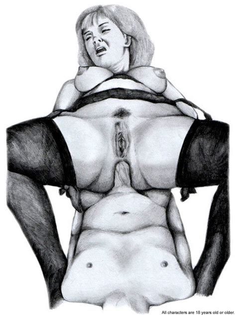 Mom and son drawn incest sex