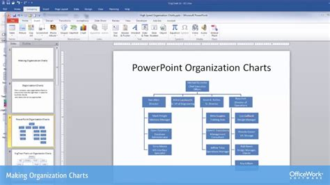 making org charts  powerpoint  orgchart software youtube