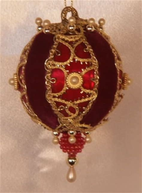 victorian style christmas tree ornaments holiday