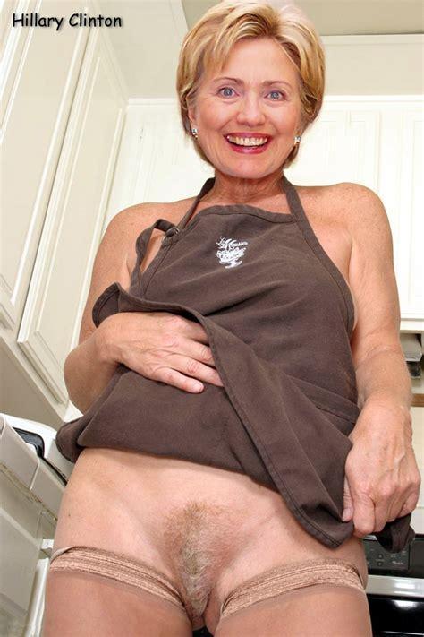fotos von hillary clinton nude