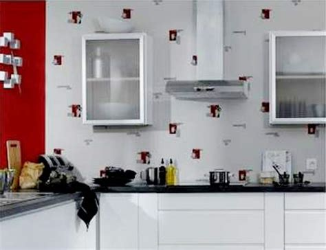 papier peint cuisine lavable pour une cuisine originale papier peint ou toile de verre