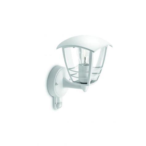 153883116 creek wall lantern white 1x60w 230v