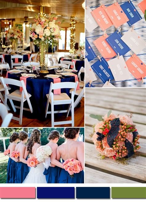 royal blue  pink wedding colors tulle chantilly