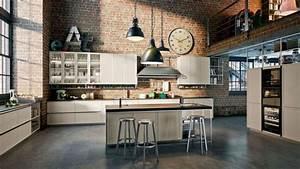 Cuisine Deco Industrielle : quelles couleurs pour une cuisine ouverte trouvez la couleur qui va avec votre cuisine ~ Carolinahurricanesstore.com Idées de Décoration