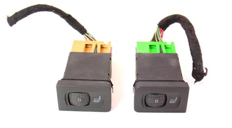 heated seat switches pigtails 99 05 vw jetta golf gti